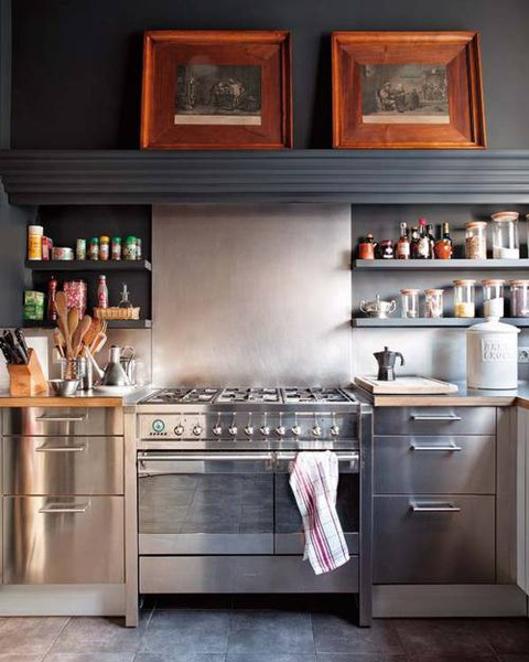 Nyitott polcok a konyhában - Barkácsblog