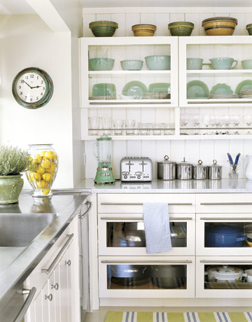 35 Open Kitchen Shelving Inspirations Shelterness