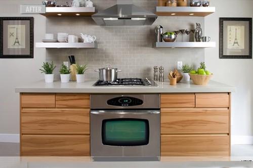 Open Kitchen Shelf Inspiration