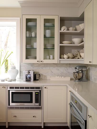 Open Shelves On Kitchen