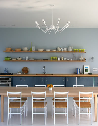 Tips For Open Shelving In The Kitchen: 65 Ideas Of Using Open Kitchen Wall Shelves