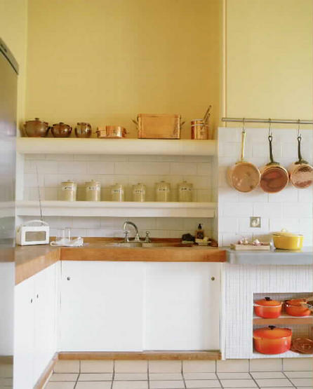 Open Shelves On Kitchen