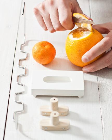 Orange Peel Hanger