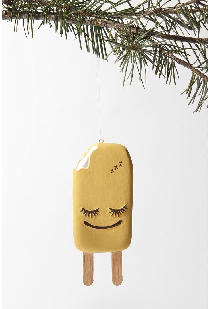 Orange Pop Christmas Tree Ornament
