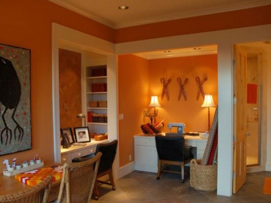 picture of orange room design ideas