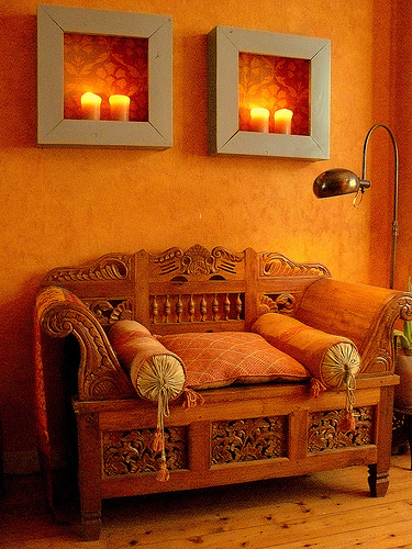 25 orange room design ideas shelterness - Interior orange paint colors ...