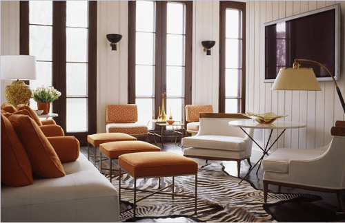 Orange Room Design Ideas