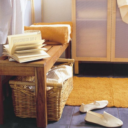 Organize Storage In Wicker Baskets