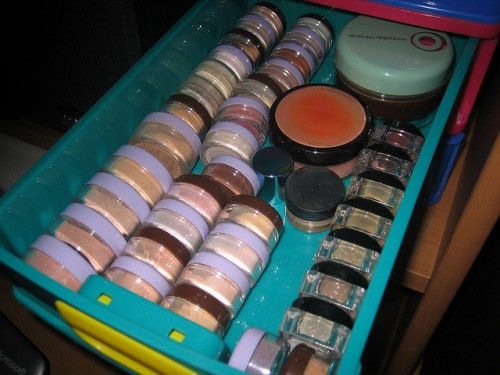 Organized Makeup Storage Drawers