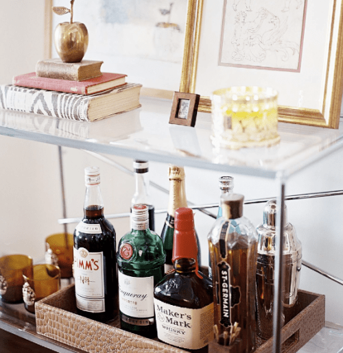 Organizing A Small Home Bar
