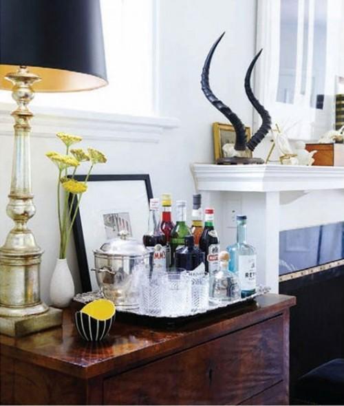Organizing A Small Home Bar