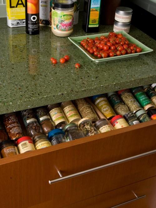 10 Ideas To Organize Spice Storage In A Drawer
