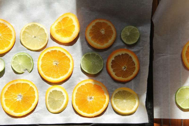 Picture Of original and aromatic diy sliced citrus mobile  3