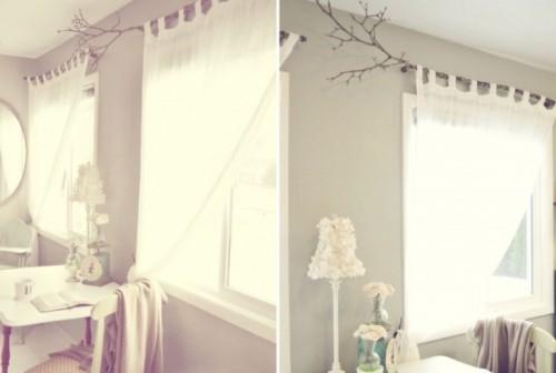 Window shelf and curtain rod - by dbourque @ LumberJocks.com
