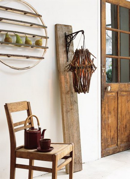20 Original Salvaged Wood Decor Ideas
