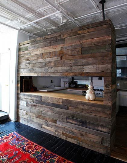Original Decor Ideas Of Salvaged Wood Pieces