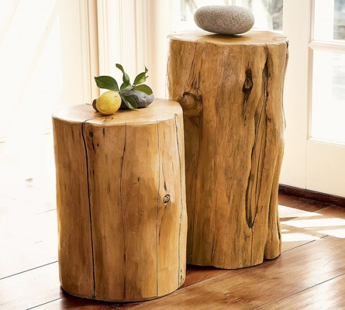 10 Original Tree Stumps Decor Ideas
