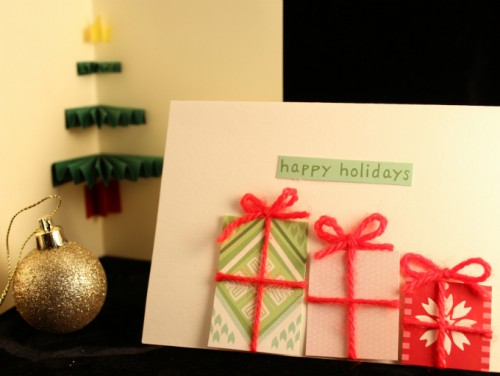 19 Original DIY Christmas Cards