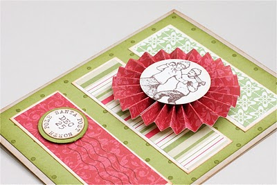 accordion flower card (via apple-crate)
