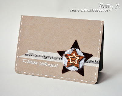 felt star card (via bettys-crafts)