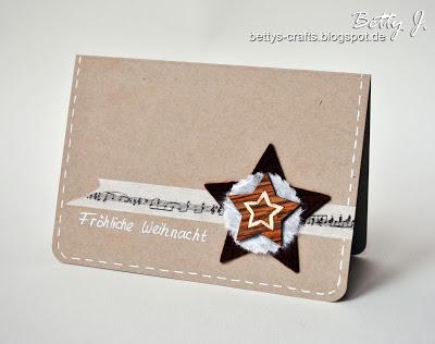 felt star card