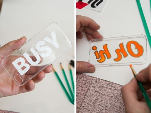 Original Diy Iphone Case Stencils