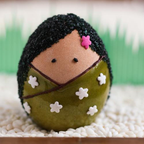 Original Diy Kokeshi Easter Eggs