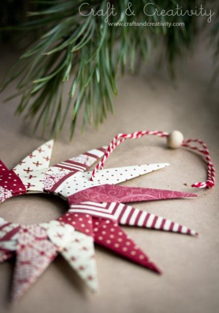 Original Diy Origami Paper Stars For Christmas Decor
