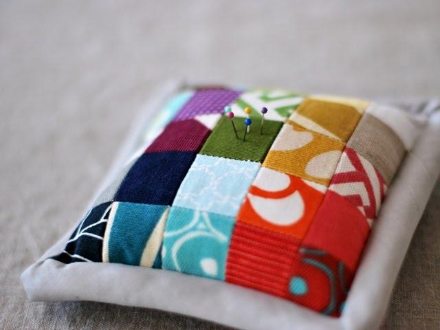 colorful pincushions