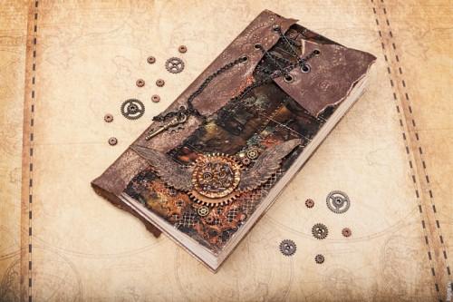 Original Diy Steampunk Notebook
