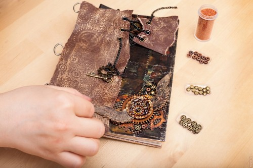 Original Diy Steampunk Notebook