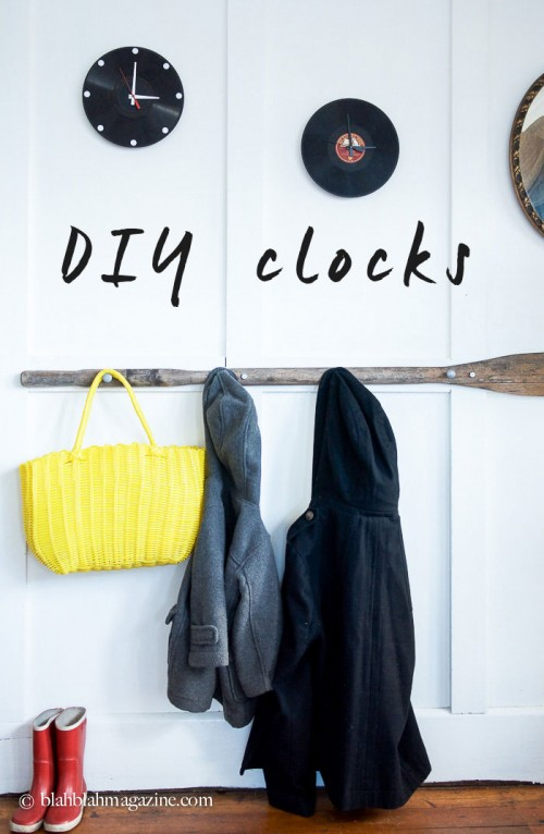 Original DIY Wall Clock From An Old Vinyl Record