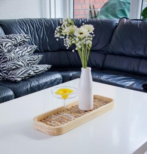 Nice Practical Diy Woven Cork Ikea Skala Tray Photo