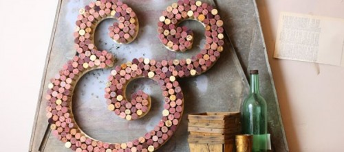 wine cork letter (via craftcuts)