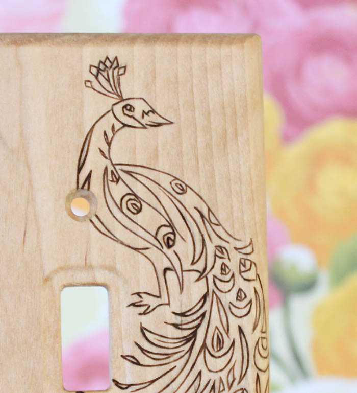 Picture Of original diy wood burned switch plate  8