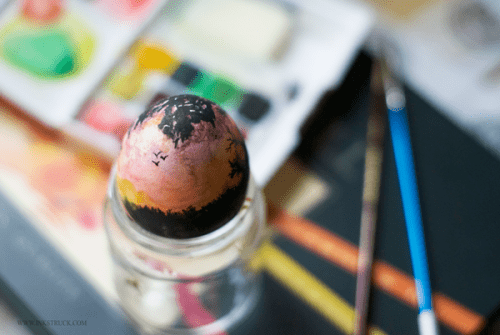 Easter egg landscape art (via inkstruck)