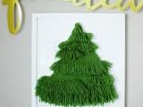 woven tree hanging