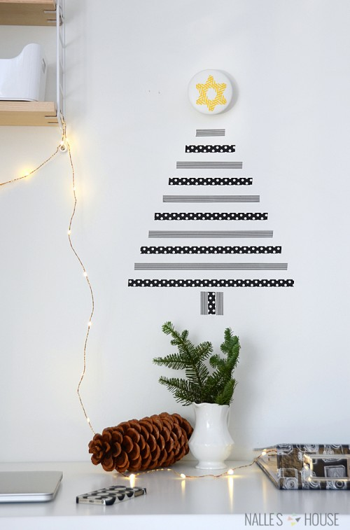 washi tape tree (via nalleshouse)