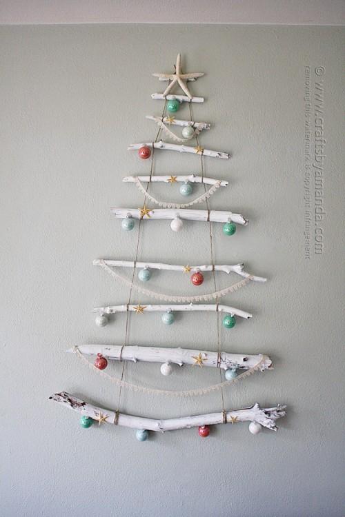 Original Holiday Decor 13 Diy Wall Christmas Trees