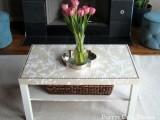 glamorous IKEA table renovation