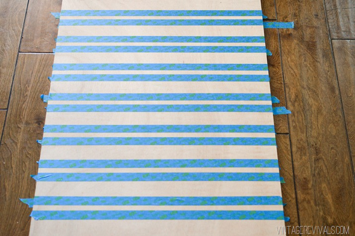 Picture Of original oversized striped diy ripple wall art  2
