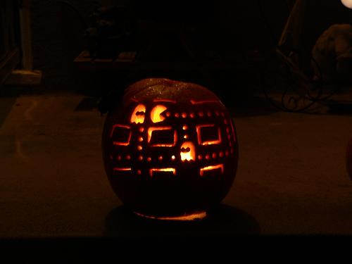 Pacman Game Pumpkin