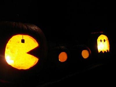 Pacman Ghost Pumpkins