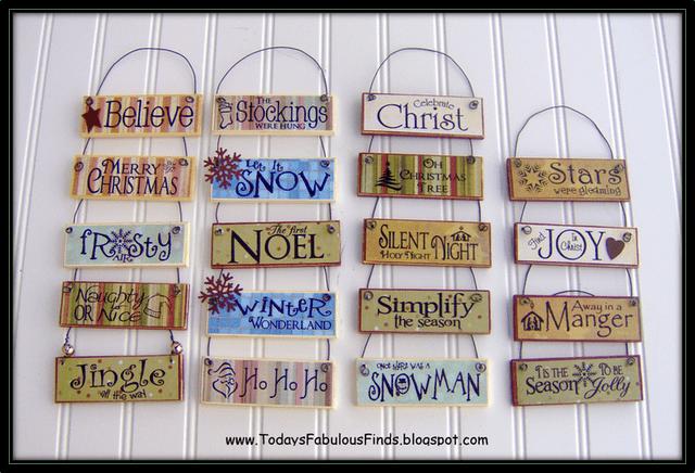 Paint Stick Signs