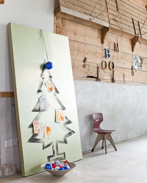 7 Cool DIY Christmas Tree Alternatives