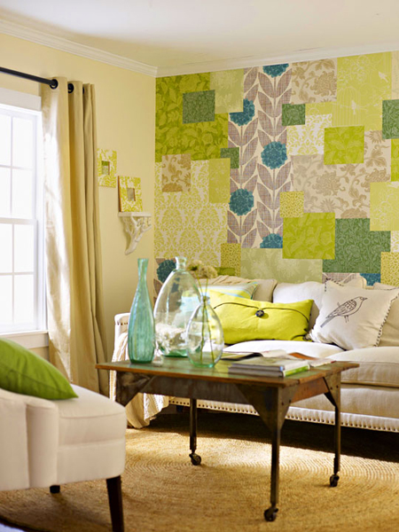 Patchwork Decorating Ideas