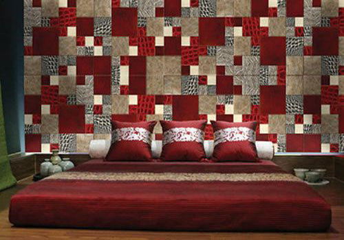 Marvelous Patchwork Decorating Ideas Modern Asian Style Bedroom With Bright Linen Home Interiors