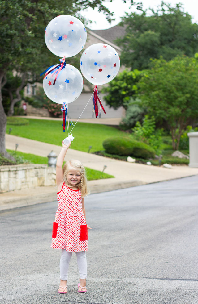 Patriotic 4th Of July Diy Balloons