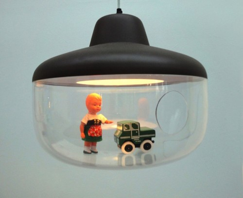 Contemporary Pendant Lamp That Display Your Favorite Things
