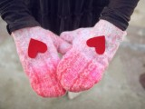 Perfect Diy Mittens As A Gift For Valentine's Day